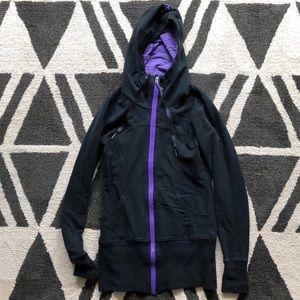 Lululemon heavy weight hooded sweatshirt size 6